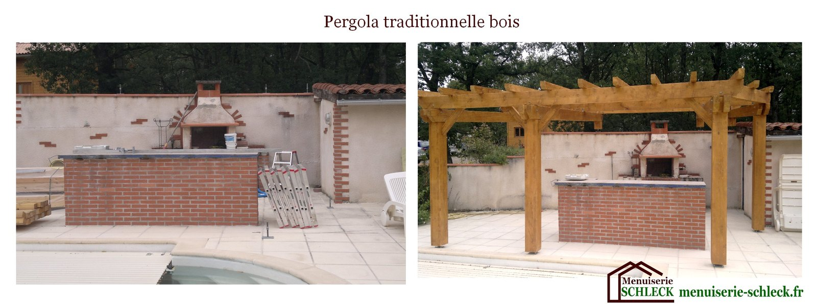 Construction bois for Construction piscine tva