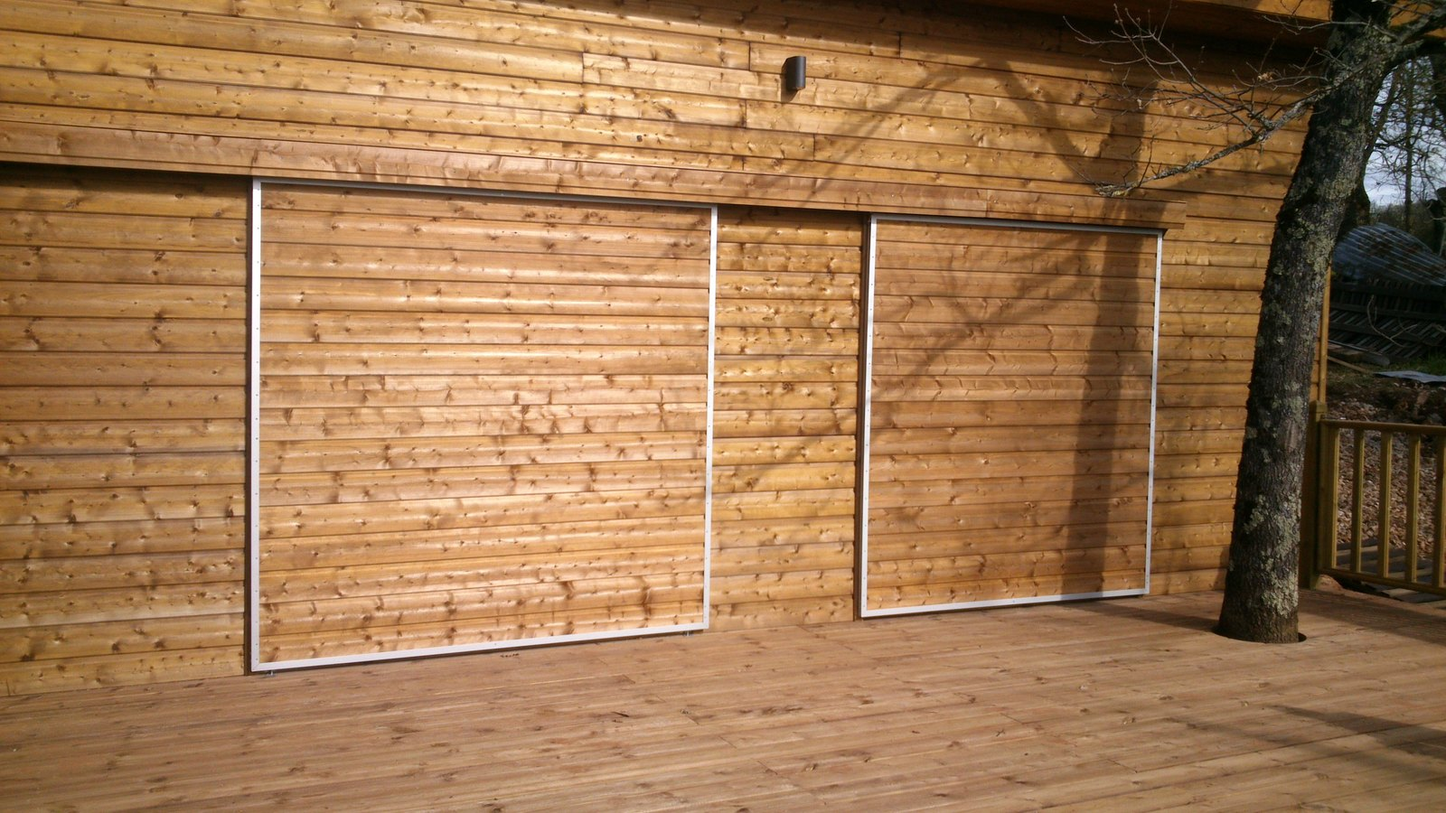 extension maison en ossature bois. Black Bedroom Furniture Sets. Home Design Ideas