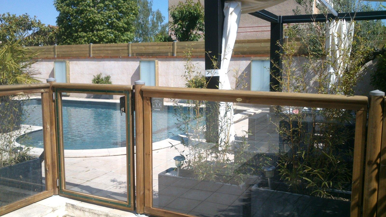 Terrasse en bois Toulouse # Barriere De Terrasse En Bois