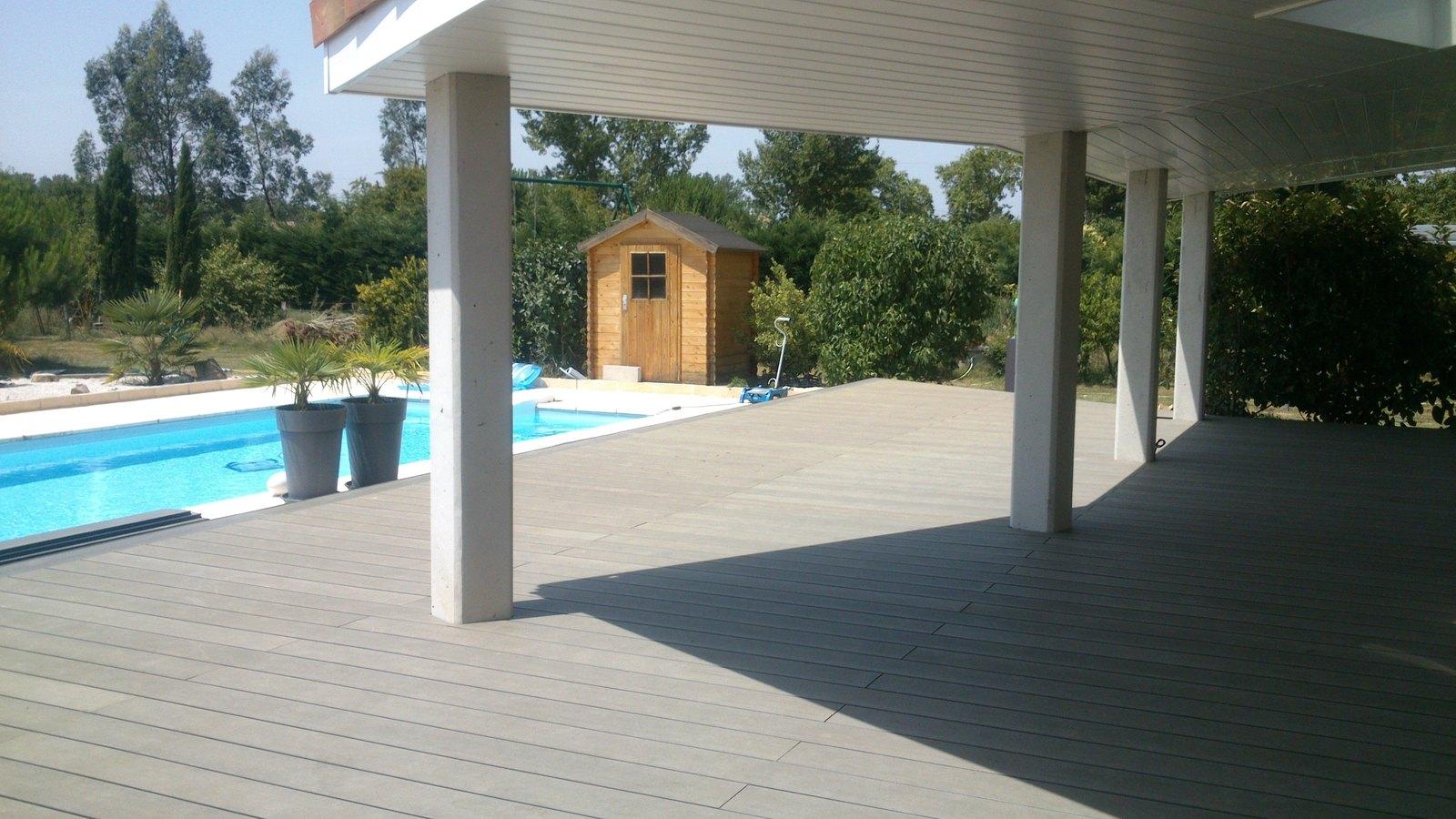 extèrieurs bois garde corps bois pergola barrière de piscine bois