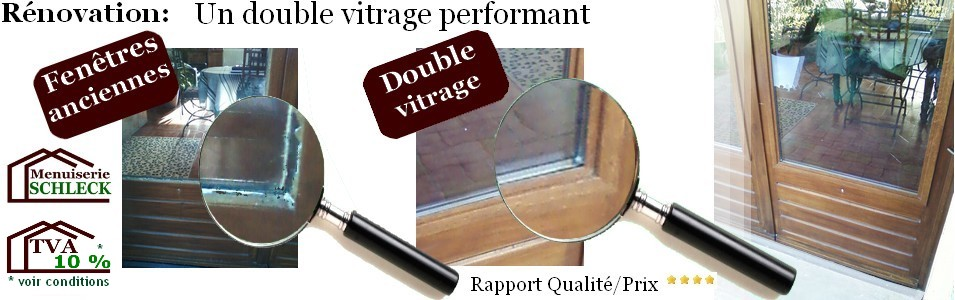 Renovation Double Vitrage